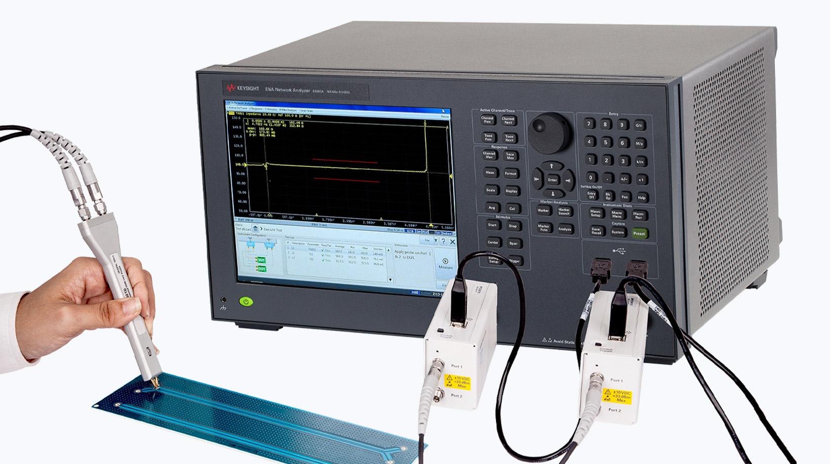 RF・マイクロ波通信測定器