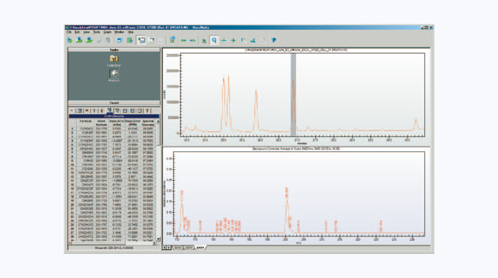 分析装置用ソフトウェア